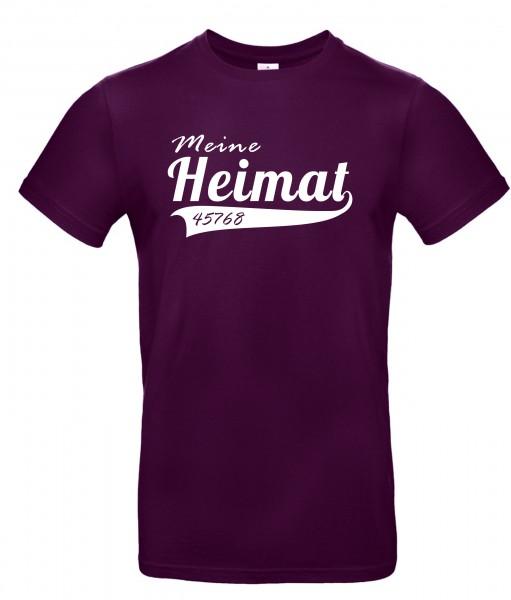 Meine Heimat T-Shirt (personalisierbar)