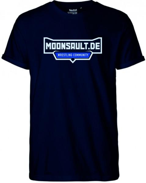 Moon-Shirt in 4 Farben Schriftzugmotiv