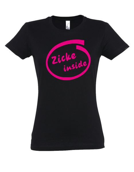 "T-Shirt ""Zicke Inside"""