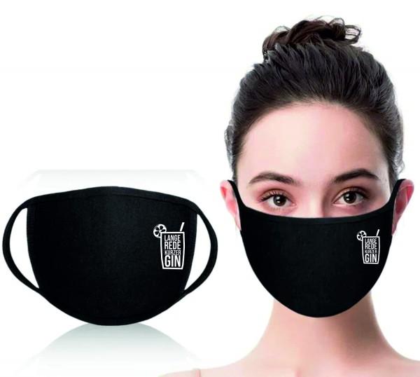 Mund-Nasen-Maske Lange Rede Kurzer Gin