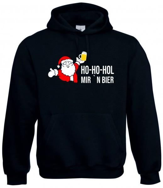 """Hoodie """"Ho-Ho-Hol mir 'n Bier"""""""