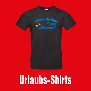 Urlaubs-Shirts