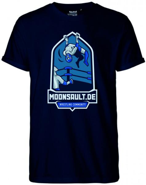 Moon-Shirt in 4 Farben Wappenlogo