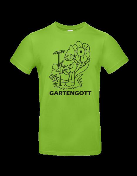 """T-Shirt """"Gartengott"""""""