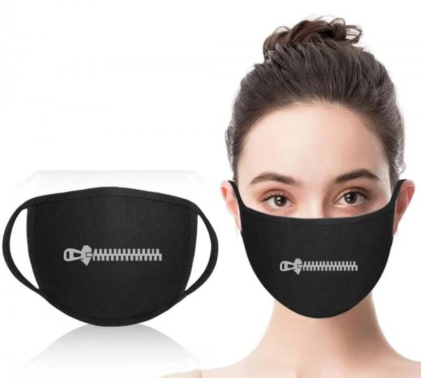 Mund-Nasen-Maske Reißverschluss