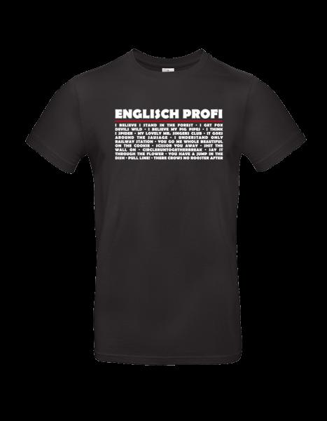 """T-Shirt """"Englisch Profi!"""""""