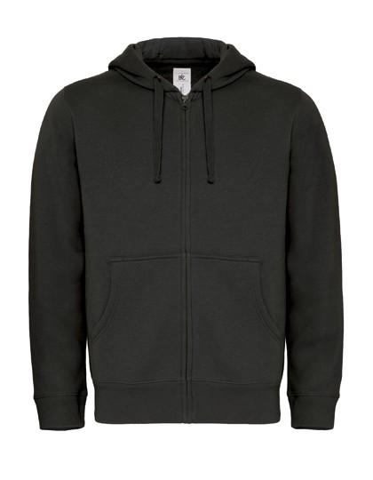 Unisex Zip-Hoodie (blanko)