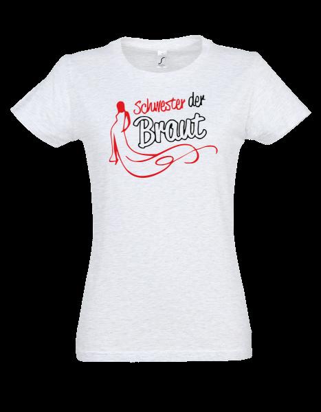 """T-Shirt """"Schwester der Braut"""""""
