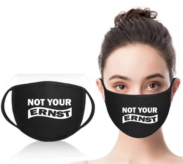 Mund-Nasen-Maske Not your Ernst